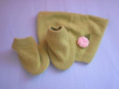 Sapatinhos de bebé (DIY)