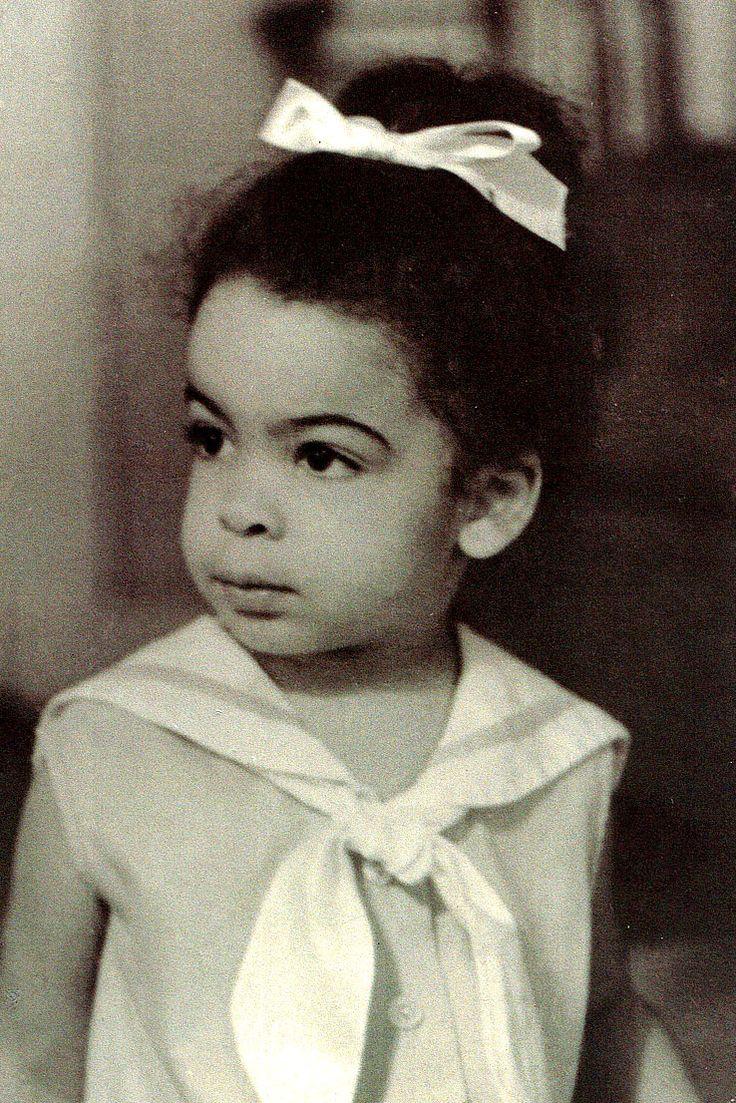 Jasmine Guy as a child