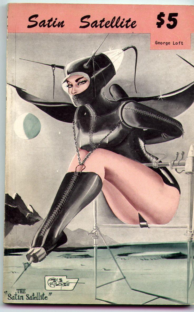 Vintage Retro Space Age girl