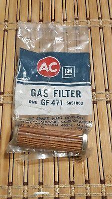 AC General Motors One GF 471 5651803 Gas Filter