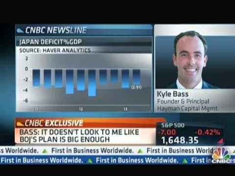 Japan - Kyle Bass  BOJ Facing 'Rational Investor Paradox'