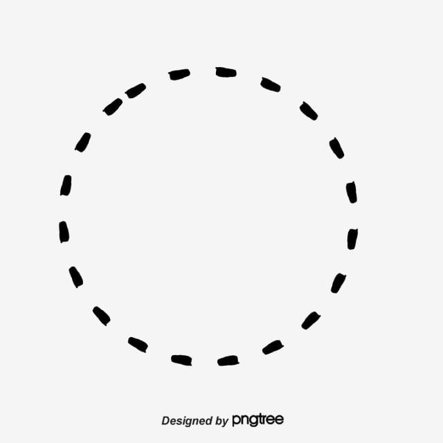 Orange Circle Dotted Line Circle Clipart Line Clipart Creative Dashed Circle Png Transparent Clipart Image And Psd File For Free Download Circle Clipart Clip Art Dotted Line