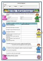 Um dicionário ilustrado para alunos de português língua não materna (PLE) sobre adjectivos para descrever carácter e personalidade.  - Apostilas