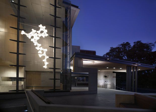 Derlot Editions - Coral is a geometrical unit that lends itself to the creation of endless organic light sculptures.
