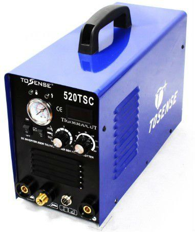 Inverter DC 110v 220v dual voltage  MMA Plasma TIG welding machine 3 in 1 520tsc  With all Accessory free shipping #Affiliate