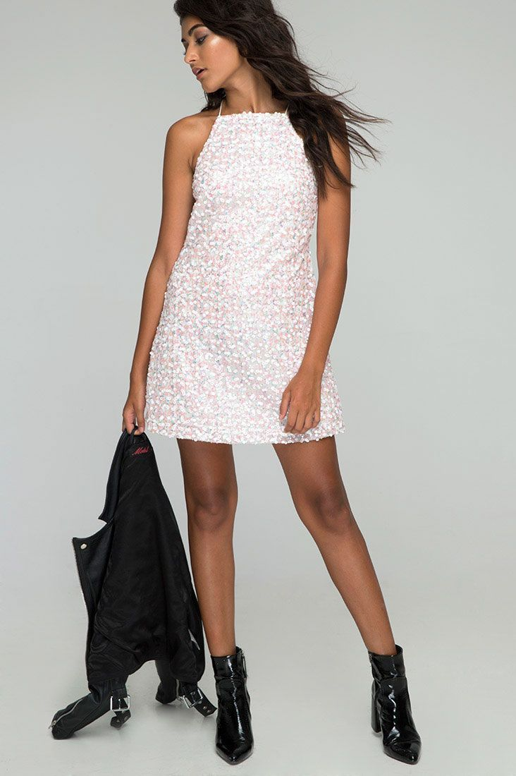 Motel Winnie Dress, $79, available at Motel.  #refinery29 http://www.refinery29.com/party-dresses-under-150-dollars#slide-8