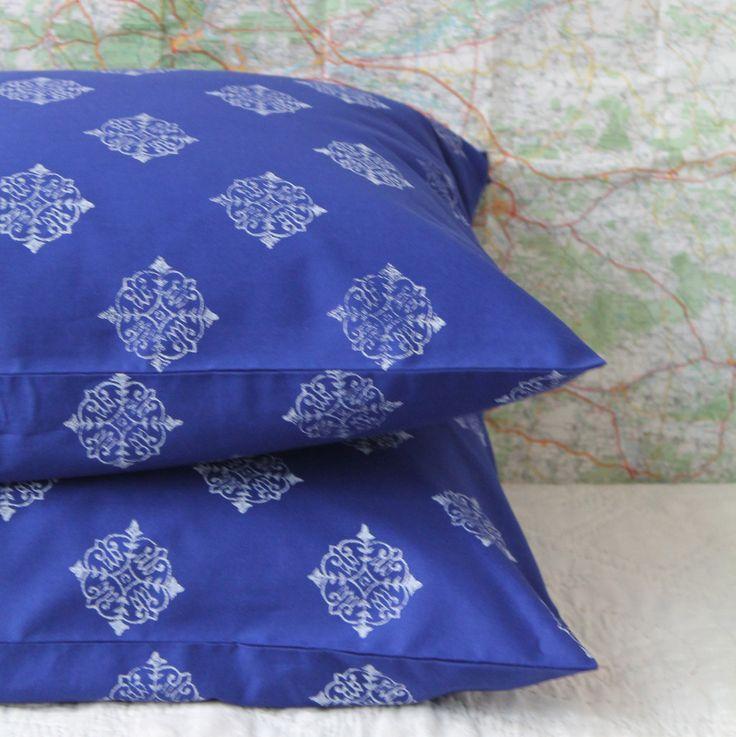 Pillowcases Pair Moroccan Coloured