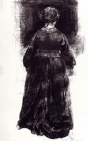 Paula Rego lithograph from the novel by Charlotte Bronte, Jane Eyre