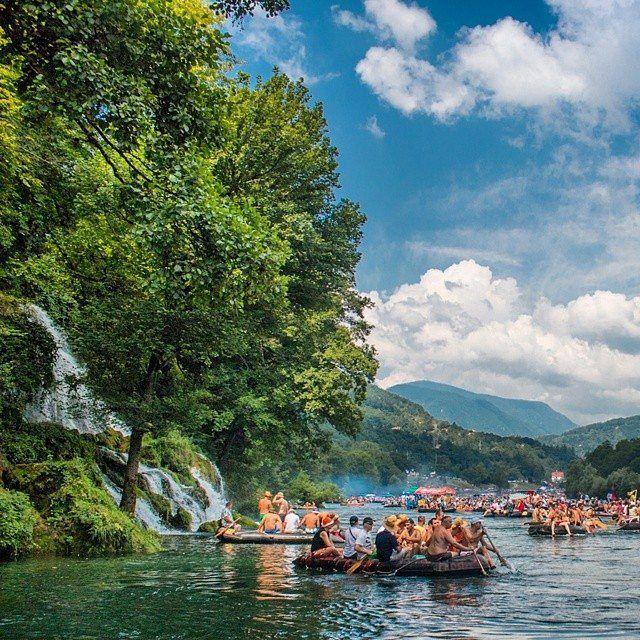 Rafting on the River #Drina, #Serbia | Рафтинг на реци Дрини, #Србија | Photo: @neshom