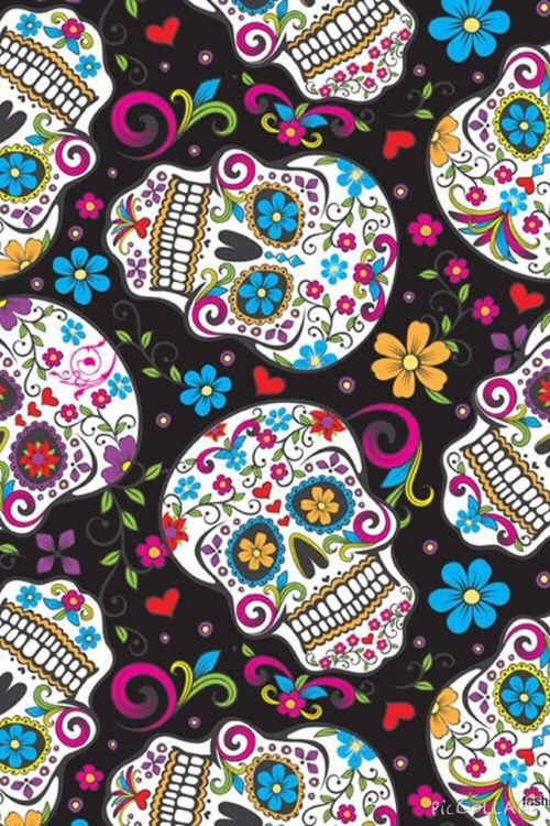 sugar skulls wallpaper wwwpixsharkcom images