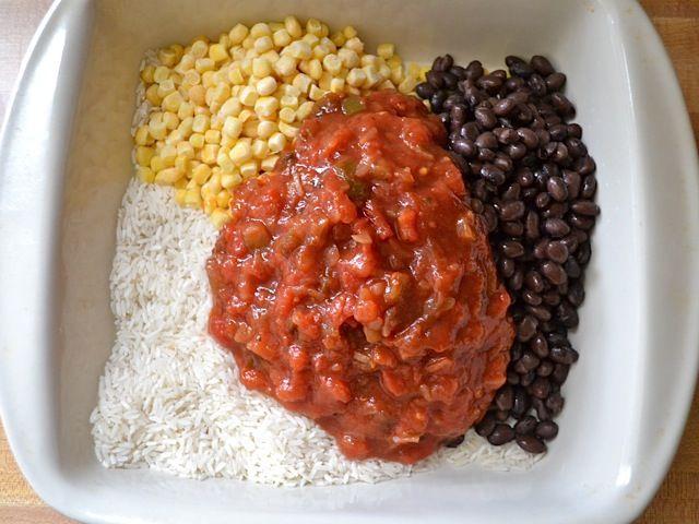 Salsa chicken casserole | Recipe | Salsa Chicken Casserole, Salsa ...