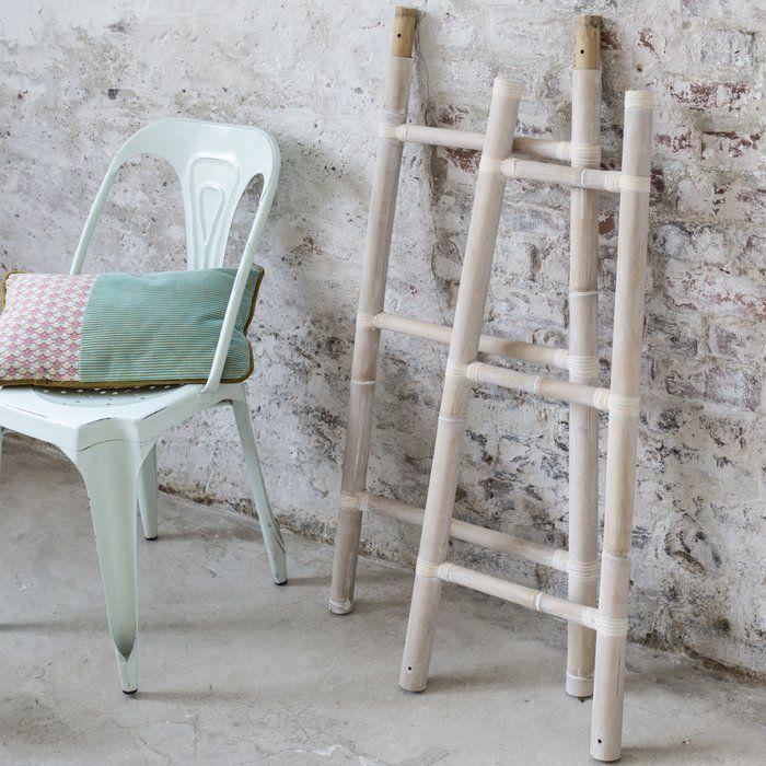 Wandmontierter Handtuchhalter Bamboo Ladder