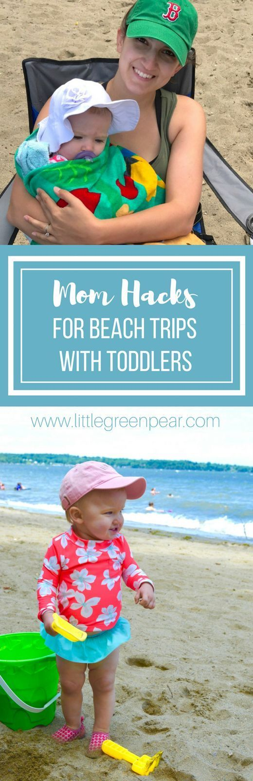 Mom Hacks For A Beach Day With Your Toddler!