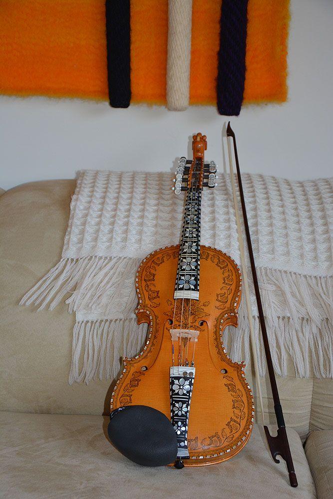 Lynn Berg Hardanger fiddle.