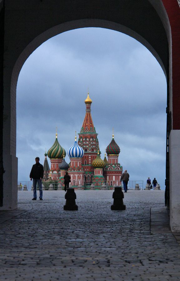 Red Square early morning, Russia