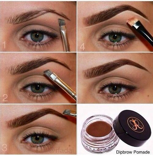 Descubre como maquillar las cejas de ojos marrones de forma correcta para que logres realzar más la mirada y la belleza natural del rostro en general.