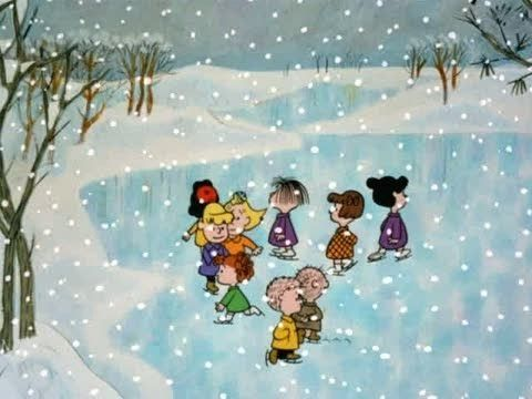 """""""Christmastime is Here,"""" from Charlie Brown Christmas."""