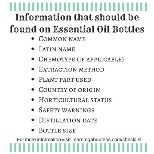 What to Look for in an Essential Oil Company (a checklist) | Learning About EOs - Using Essential Oils Safely