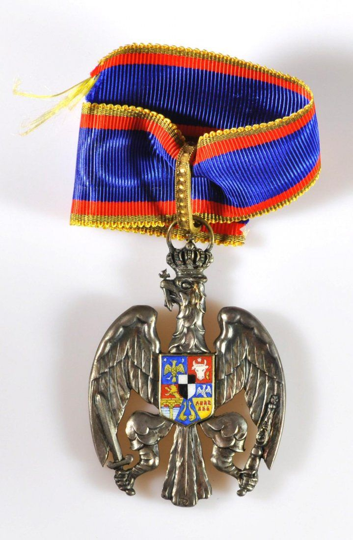 HONOR BADGE OF THE ROMANIAN EAGLE : Lot 1978