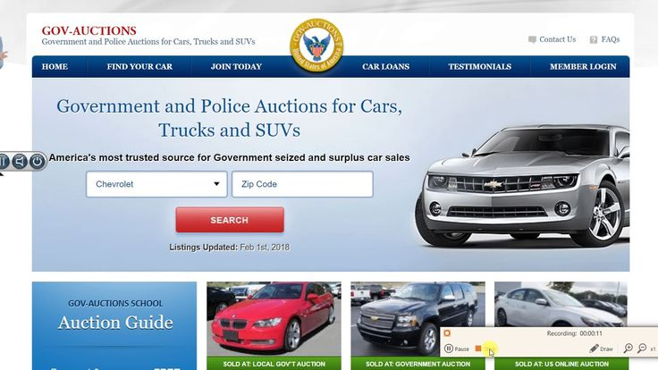 how to get cheap cars government auctions