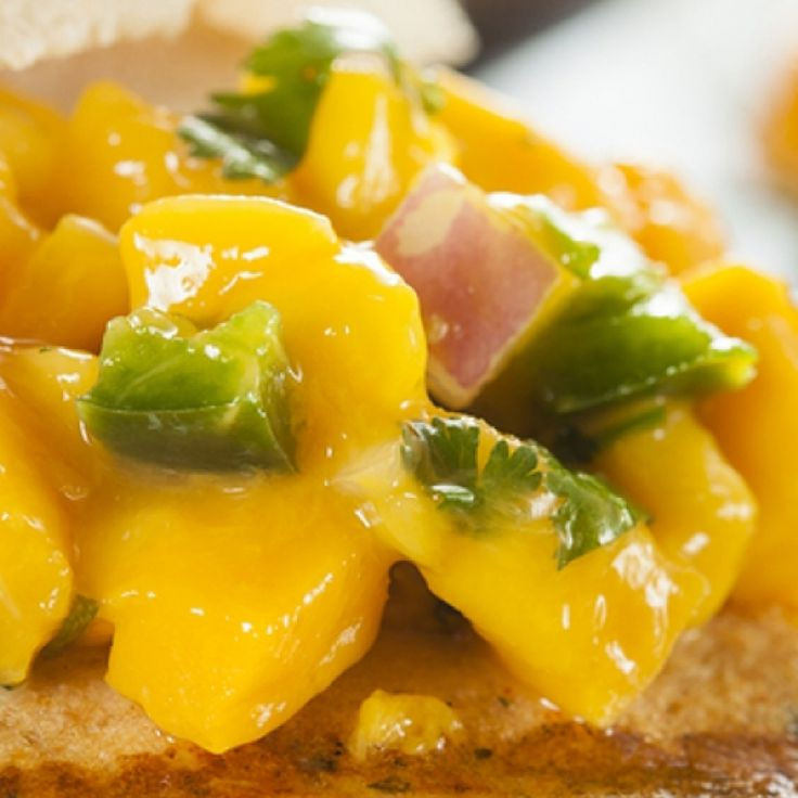 This mango salsa recipe adds a sweet and spicy compliment to a fish dish.. Mango Salsa For Fish Recipe from Grandmothers Kitchen.