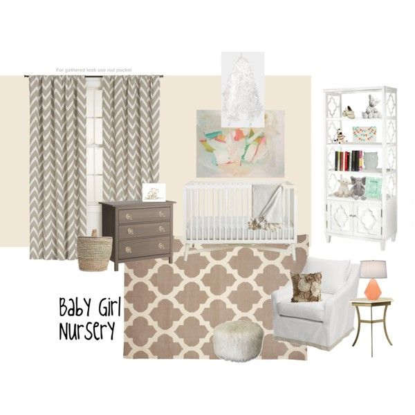 Baby Girl Nursery. Keeping it natural and without pink overload