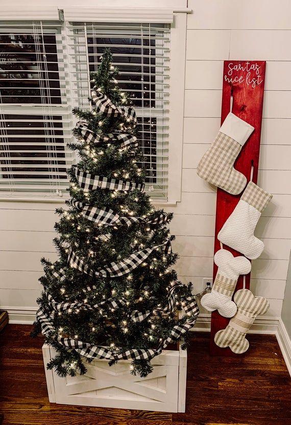 Christmas Stocking Holder Stocking Stand Stocking Post Etsy