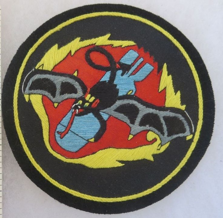 499th BOMB SQUADRON US AIR FORCE PATCH Custom Hand Sewn for USAF VETERANS