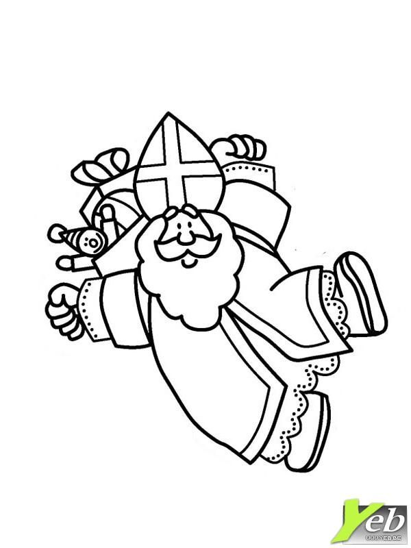 35 best saint nicolas images on pinterest xmas - Coloriage de saint nicolas ...