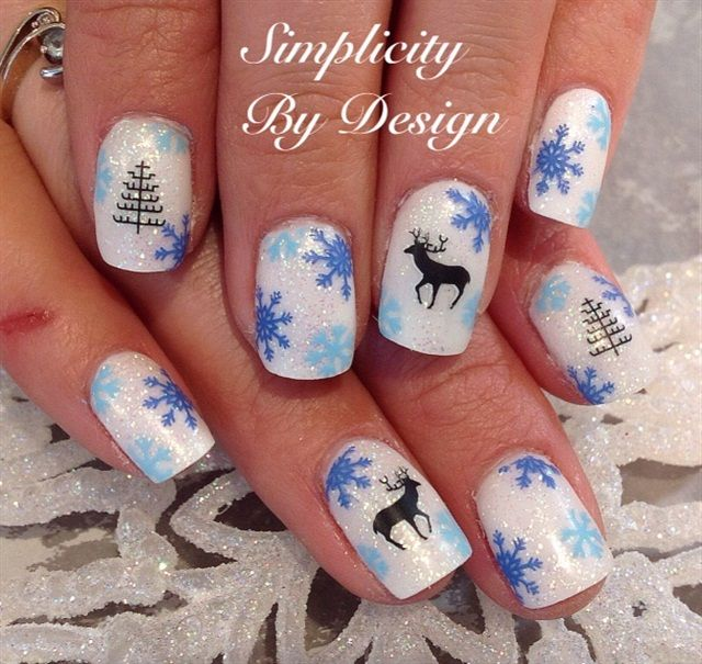 26 Impossible Japanese Nail Art Designs: 1000+ Images About Christmas Nail Art On Pinterest