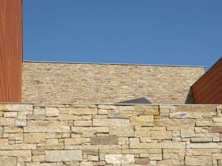 Paneles de piedra natural stonepanel silvestre para el - Paneles para forrar paredes ...