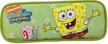 Spongebob Squarepants Plastic Pencil Box Pencil Case - With Gary Green