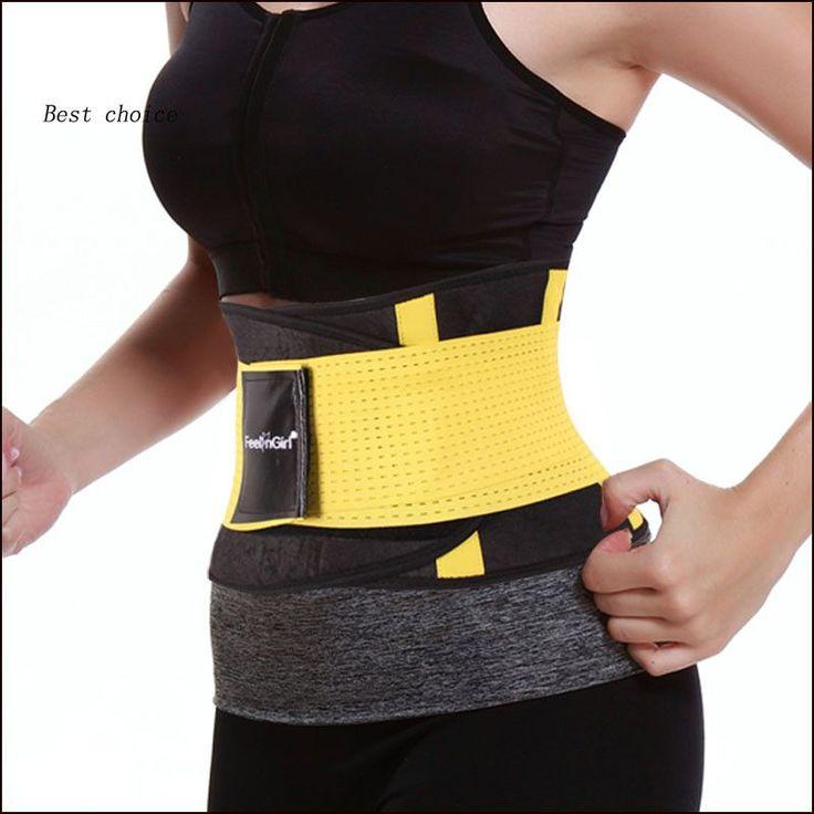 Neoprene Waist Slimming Sports Belt Waist Trimmer Exercise Belt Burn Fat Sauna Sweat Loss Weight Sport Girdle For Men/Women -1