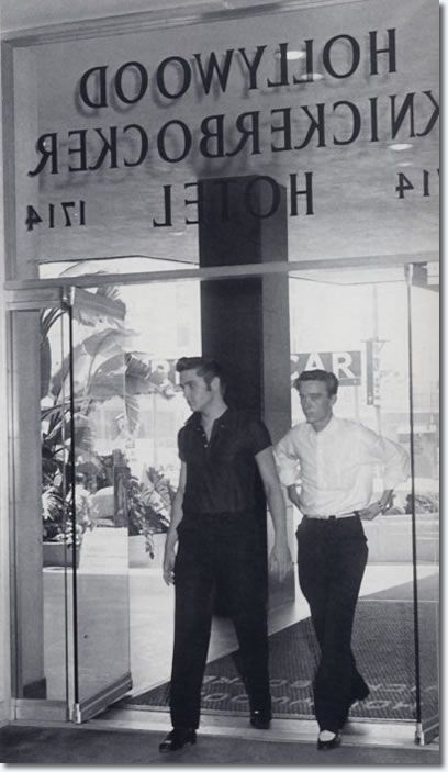 Elvis Presley At The Knickerbocker Hotel, Hollywood - August 18, 1956 On Saturday