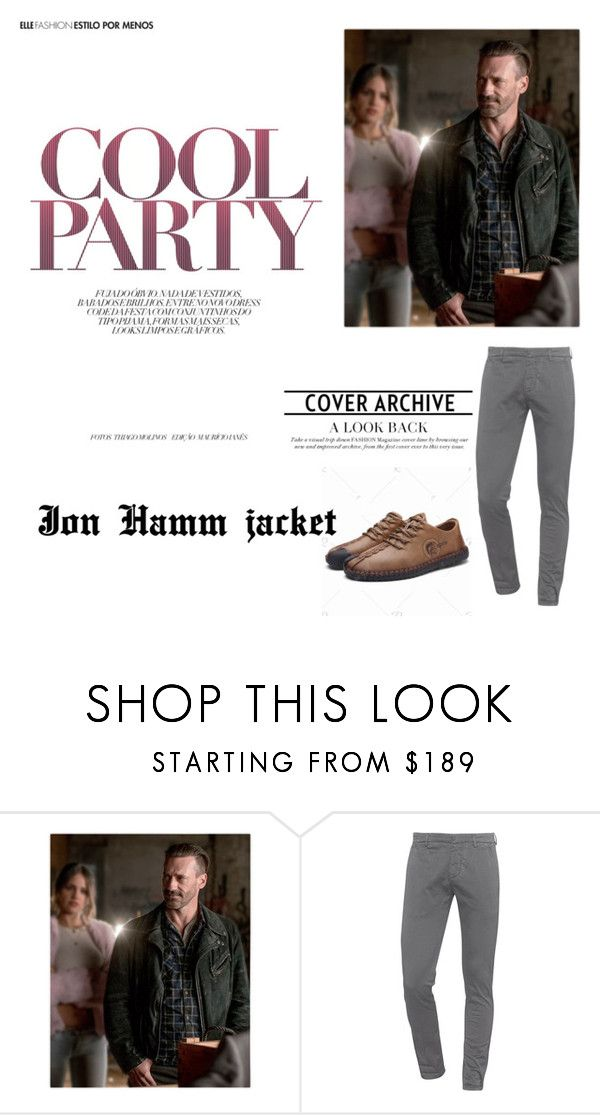"""""""Jon Hamm Baby Driver Film Jacket"""" by ujackets ❤ liked on Polyvore featuring Dondup"""
