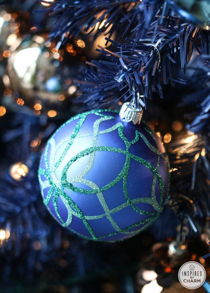 Royal Blue Christmas Ornaments Part - 15: A Blue Christmas