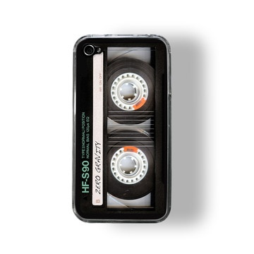 iPhone 4/4S Case Retro Cassette now featured on Fab.
