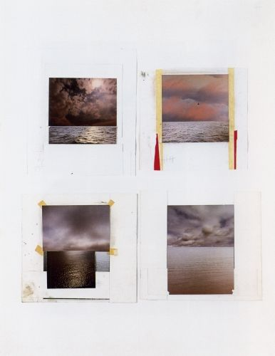 Gerhard Richter » Art » Atlas » Atlas Sheet 191 » Seascapes (Photo Collages)