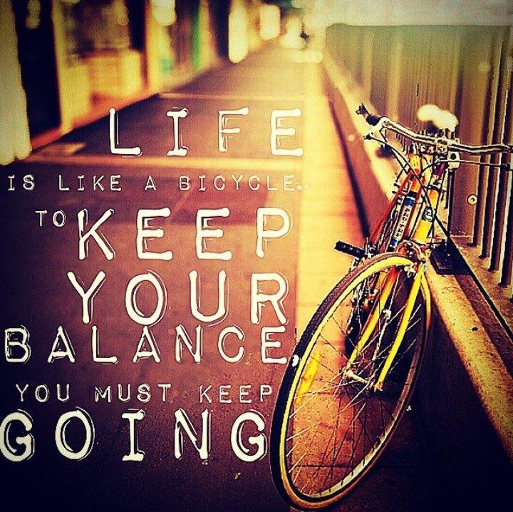 So true! I love the power of metaphor ^_^ #life #direction #balance #keepgoing
