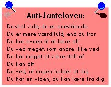Billedresultat for janteloven