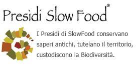 Il marchio del Presidio Slow Food, che contrassegna tutti i prodotti che hanno riconosciuto degni della loro tutela, come il Maiorchino prodotto dall'azienda agricola Isgrò di Furnari.