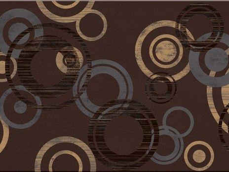 Faianta Decorativa cu Cercuri Amarante braz modern centro 29,7x59 cm Opoczno In baie, cel mai adesea se opteaza pentru placarea totala; puteti monta insa faianta doar pe peretele din zona cazii care se uda la utilizare.