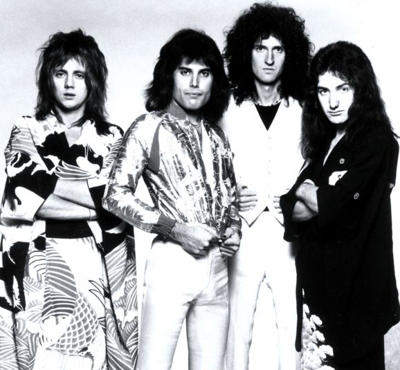 "Queen were an English rock band formed in london in 1970. Originally consisting of four members: Farrokh ""Freddie"" Bulsara..."