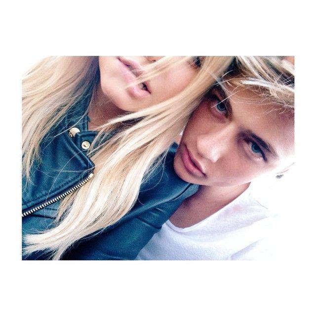 фото девушке и мужчины блондины