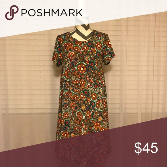 EUC LuLaRoe Carly, Small EUC LuLaRoe Carly, Small, smoke free, excellent condition LuLaRoe Dresses High Low