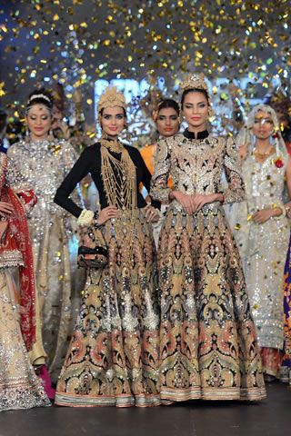 Ali Xeeshan Collection at PFDC L'Oreal Paris Bridal Week