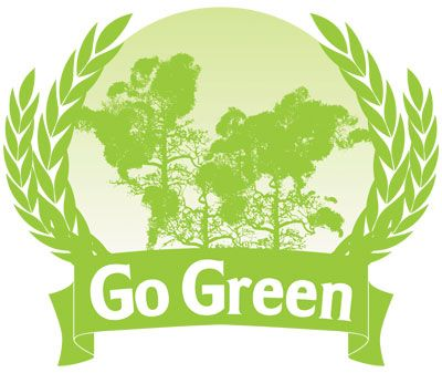 10 Smart Green Slogans:         1. Burn Calories Not Oil  2. Earth allows you to stand. Let it stand the way it is.  3. Global Warming is not cool!  4. I hear the Eco  5. Clean Coal Is Just Dirty Business  6. Respect your Elders (and Oaks, Pines and Hickorys too)  7. Save water drink beer  8. Smells like green spirit  9.The thing that burns never returns  10. There is no Planet B.
