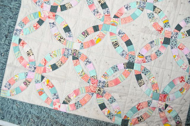 double wedding ring quilt 1000 images about wedding ring quilt on 3662
