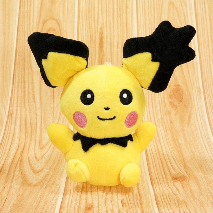 Soft Toys With Pockets : New pikachu plush soft stuffed toy pokemon pocket monster