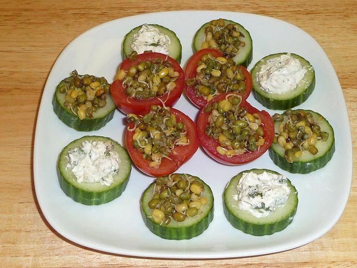 Indian Vegetarian Dinner Party Menu Ideas Part - 49: Garden Fresh Tapas | Manjulau0027s Kitchen | Indian Vegetarian Recipes |  Cooking Videos
